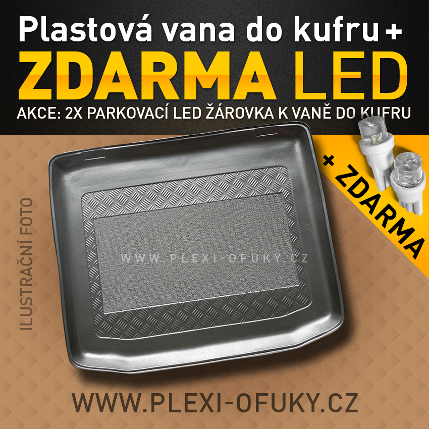AKCE: Autovana do kufru Audi A4, 4D, 95-01R, sedan